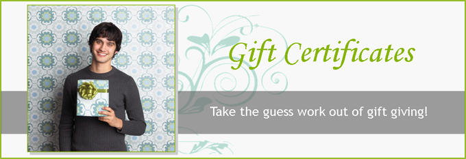 Gift Certificate Banner