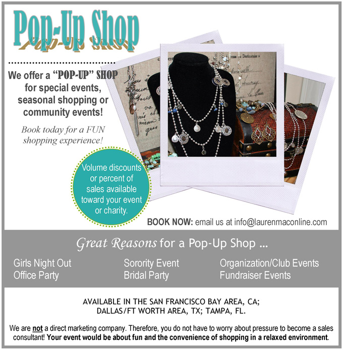 Trunk Show Pop-Up Shop Fundraisers
