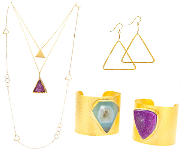 Charlene K Triangle collection