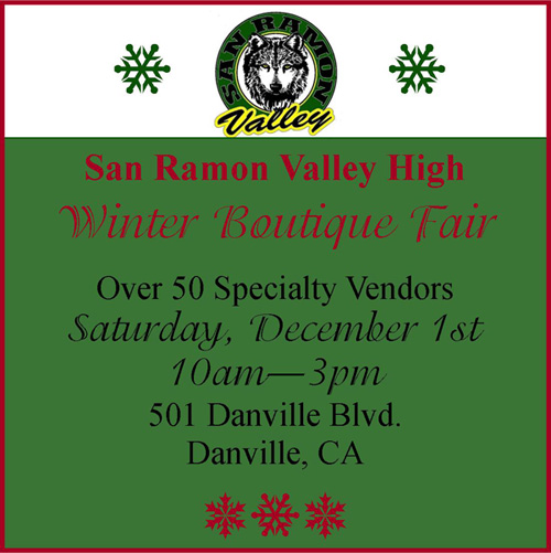 SRVHS Winter Boutique