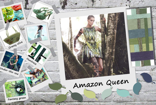 Amazon Queen Color Trend