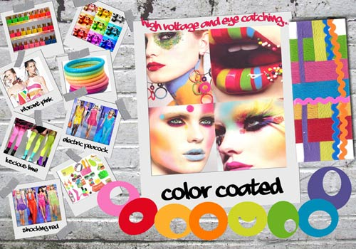 Color coated trend