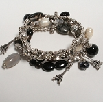 Lizou Paris Nights Stone Bracelet