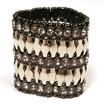Shelliann Heavy Metal Bling Bracelet