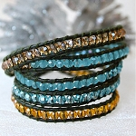 Lizou Jewel Creek Wrap Bracelet