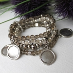 Lizou Collection Crystal Reflection Bracelet
