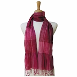 Silk and Cotton Scarf