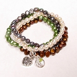 Freshwater Pearl Bracelets - 6 Colors