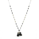 World Finds Audra Agate Cluster Necklace