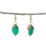 World Finds Anika Recycled Glass Earrings