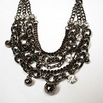 Chain Reaction Mixed Layer Necklace Set