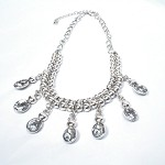 Sofia Crystal Dew Drop Necklace