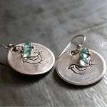Veronica Willingham Sterling Bird Earrings