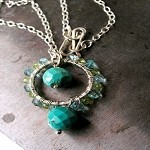 Veronica Willingham Venus Gemstone Necklace